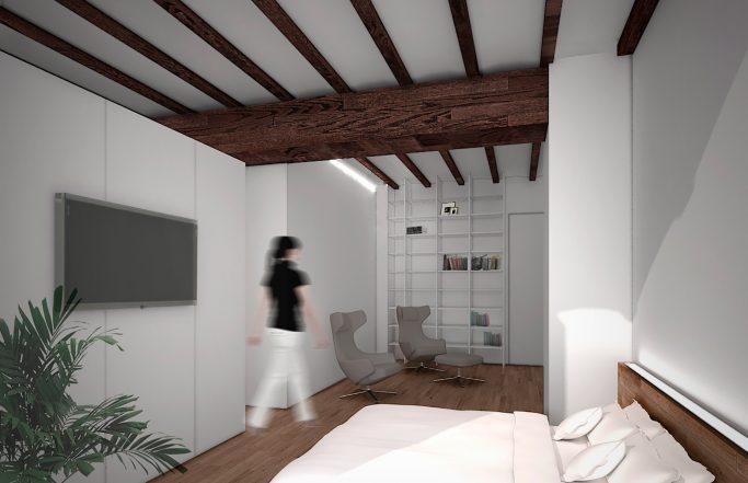 Rehabilitación de vivienda + Edificio anexo / Rehabilitación de viviendas Valencia