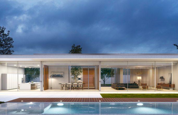 Casa en la Colina / Proyecto de construcción e interiorismo Valencia