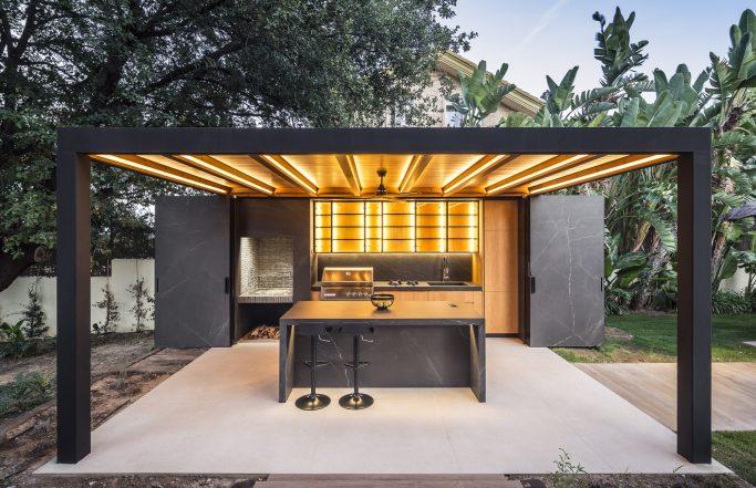 STONE BOX / Diseño de espacio exterior en Valencia